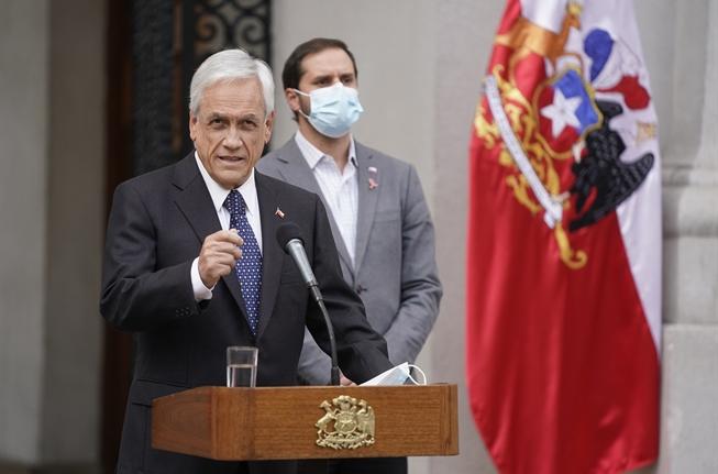 Pandora Papers provoca quiebre en Chile Vamos por apoyo a Piñera: Varios diputados oficialistas están pensando apoyar la Acusación Constitucional