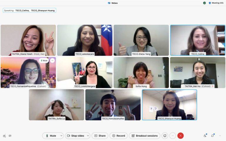 """Exitosa """"Misión Comercial en línea de Taiwán a América Latina 2021"""""""