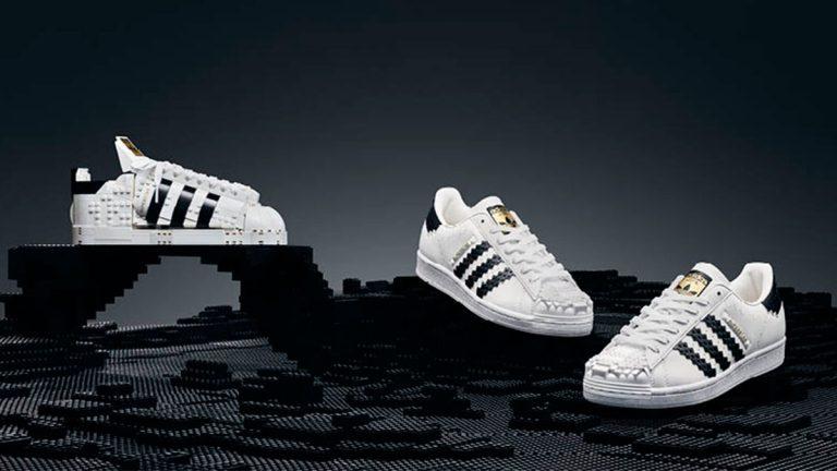 LEGO® y adidas se unen para lanzar en Chile réplica de zapatilla Originals Superstar