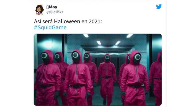 """Fanáticos comparten Memes y bromas de la serie de Netflix """"El juego del calamar"""""""