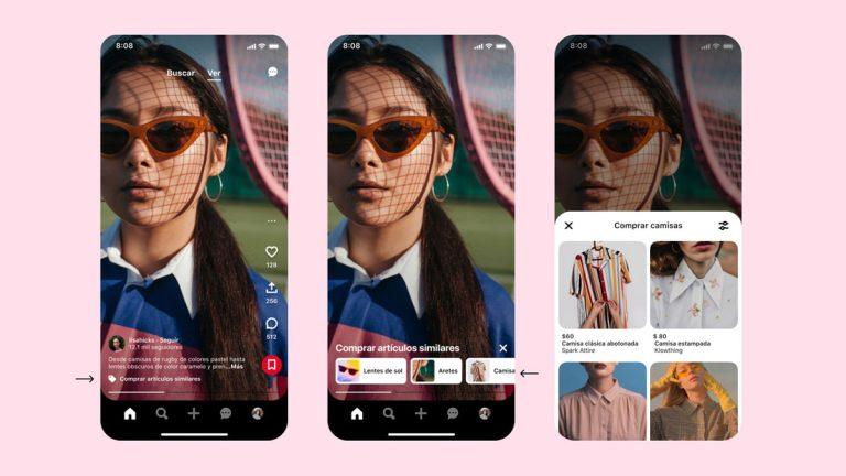Pinterest evoluciona: conoce las nuevas formas de mirar, descubrir y comprar contenido